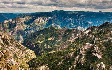 Naturaleza salvaje en México: Barrancas del Cobre