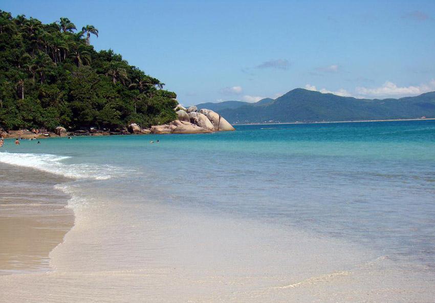Playa Bahamitas, una de las playas tranquilas en Campeche