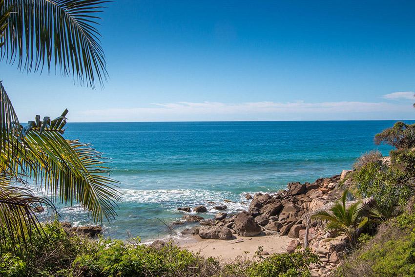 Litibú, una de las playas tranquilas en Nayarit