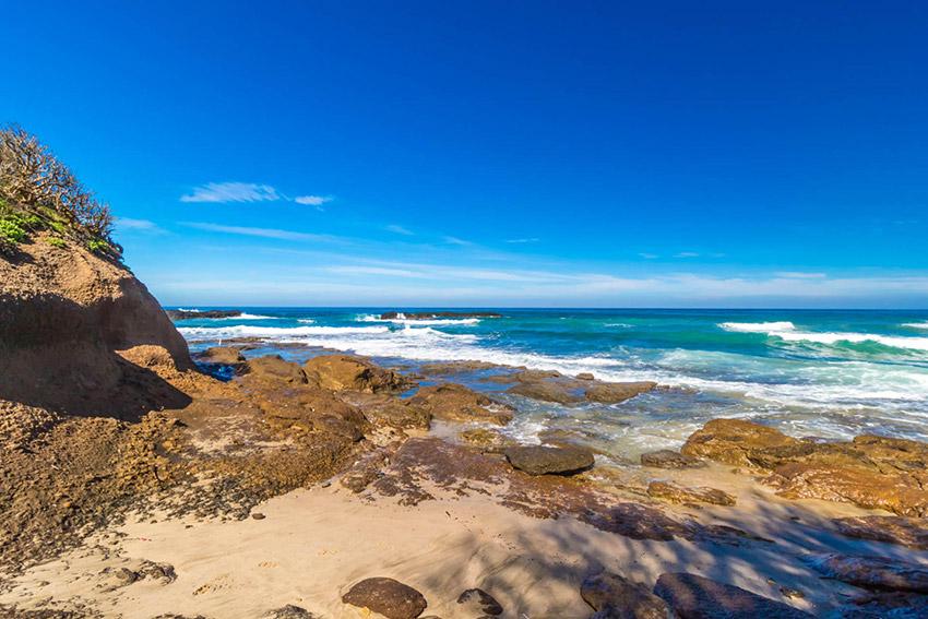 Playa Careyeros, una de las playas tranquilas en Nayarit