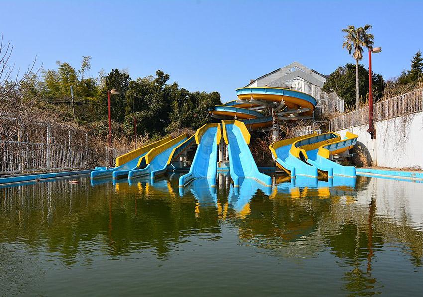 Sports World Theme Park, uno de los pueblos fantasma en Japón