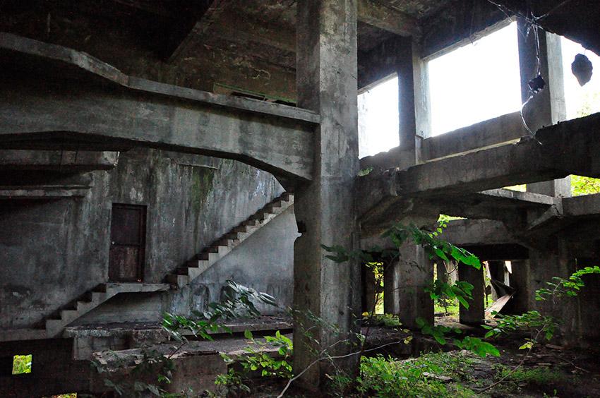 La Mina de Haboro, uno de los pueblos fantasma en Japón
