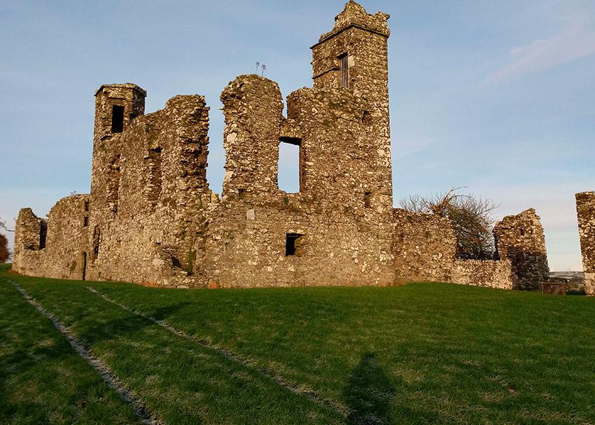 Colina de Slane, uno de los lugares de las rutas de peregrinaje en Irlanda