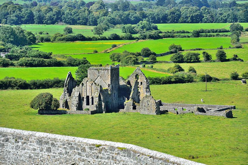 Roca de Cashel, uno de los lugares de las rutas de peregrinaje en Irlanda