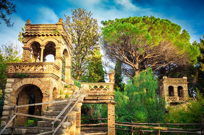 Villa Comunale, uno de los lugares de Taromina y uno de los rincones que no puedes perderte en Sicilia