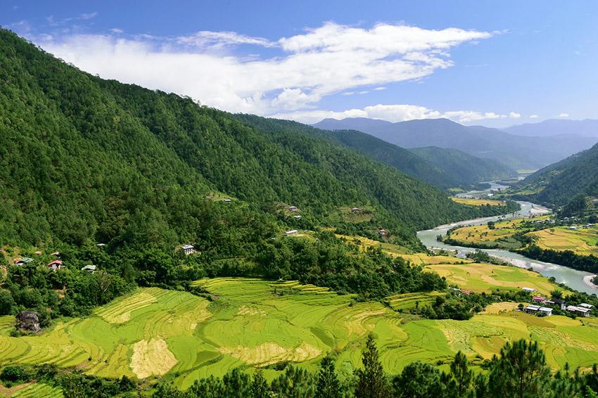 Bután, uno de los lugares para huir del turismo en el 2018