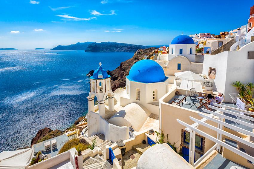 Santorini, uno de los destinos low cost para verano