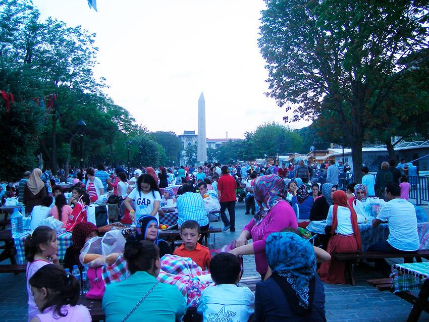 Turquía, uno de los países para vivir el Ramadán