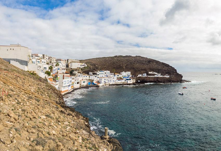 Pueblo de Tufia, uno de los rincones secretos de Gran Canaria
