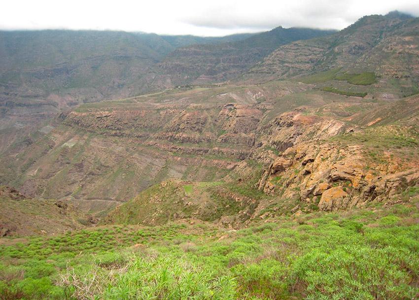 Pista de Tirma, uno de los rincones secretos de Gran Canaria