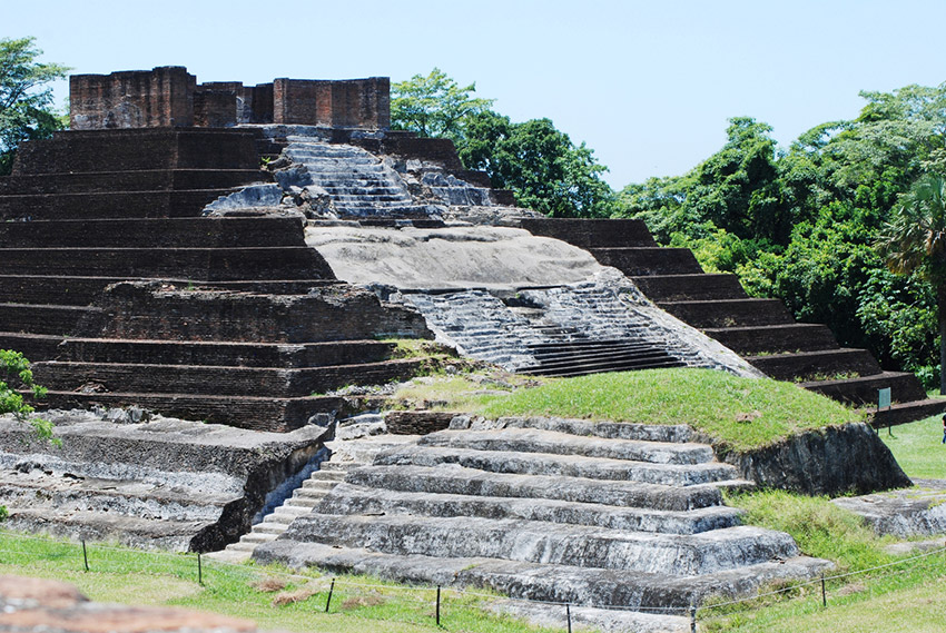 Comalcalco, uno de los lugares de la arqueología en México