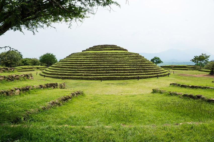 Guachimontones, uno de los lugares de la arqueología en México