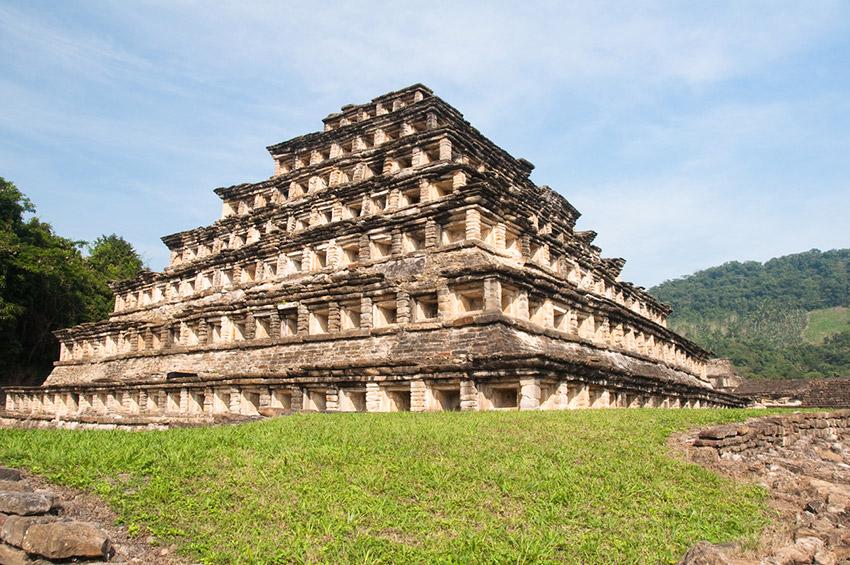 El Tajín, uno de los lugares de la arqueología en México