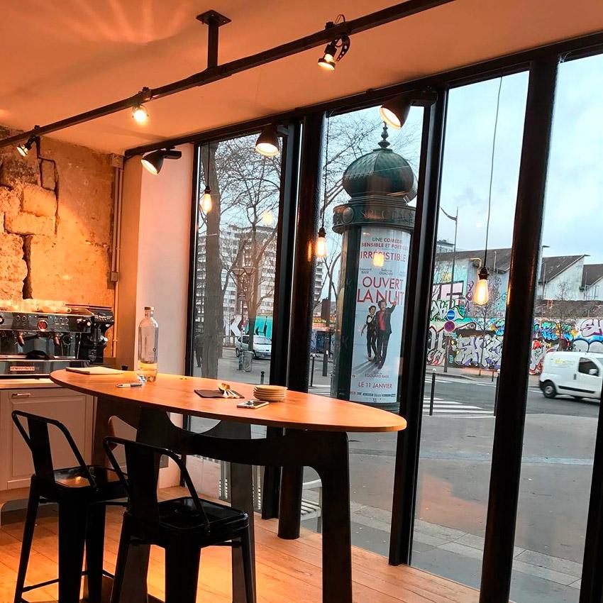 Café Lomi, uno de los cafés de moda en París