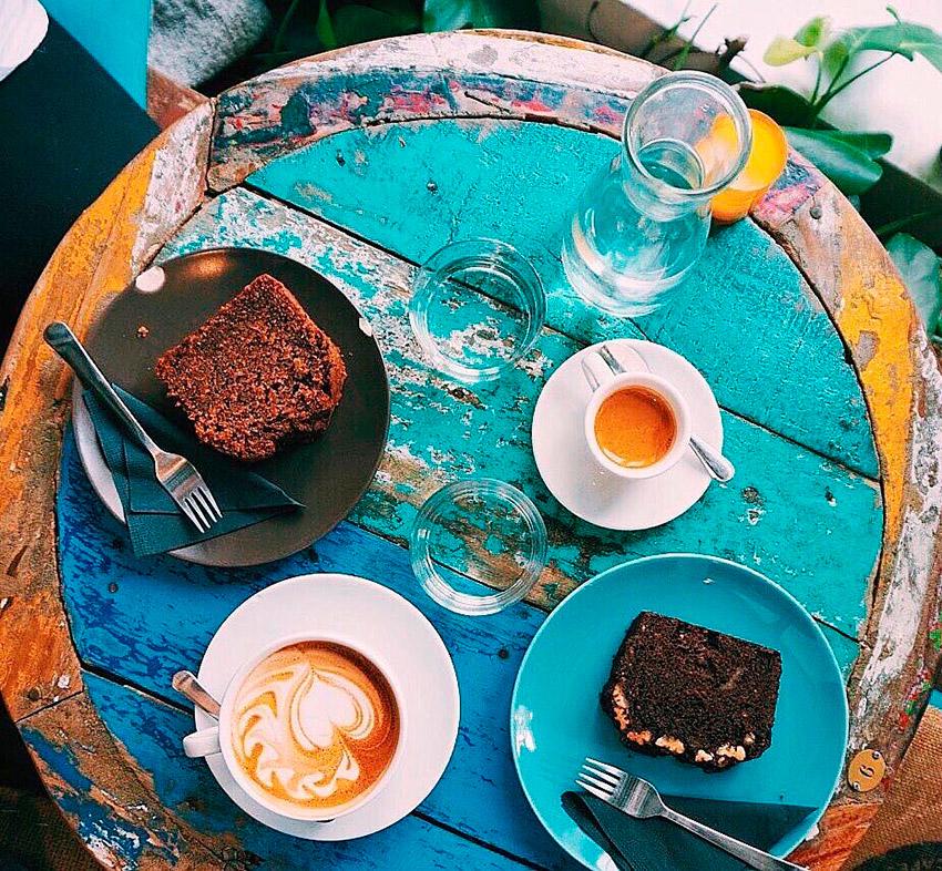 La Caféothèque, uno de los cafés de moda en París