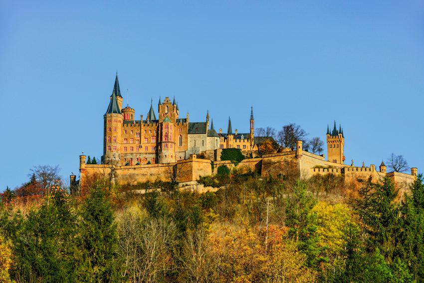 Castillo de Hohenzollern, uno de los castillos de cuento en Alemania