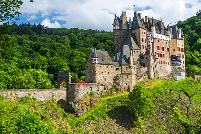 Castillo de Eltz, uno de los castillos de cuento en Alemania