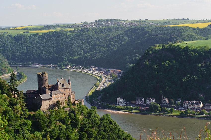 Castillo de Katz, uno de los castillos de cuento en Alemania