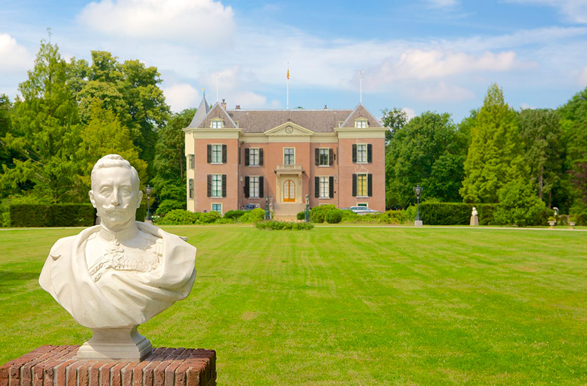 El Castillo de Huis Doorn, uno de los castillos de cuento en Holanda