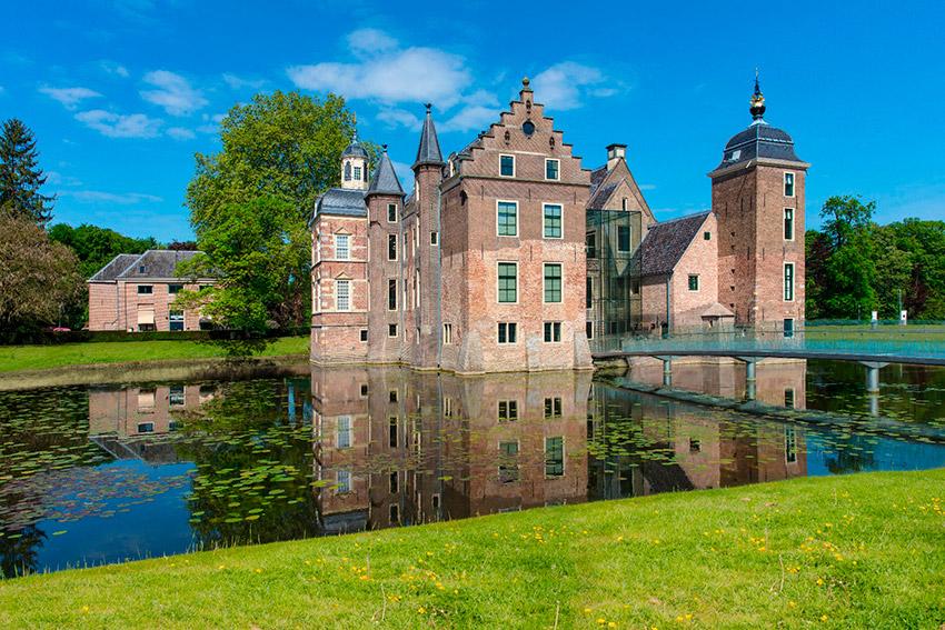 Achterhoek, uno de los castillos de cuento en Holanda