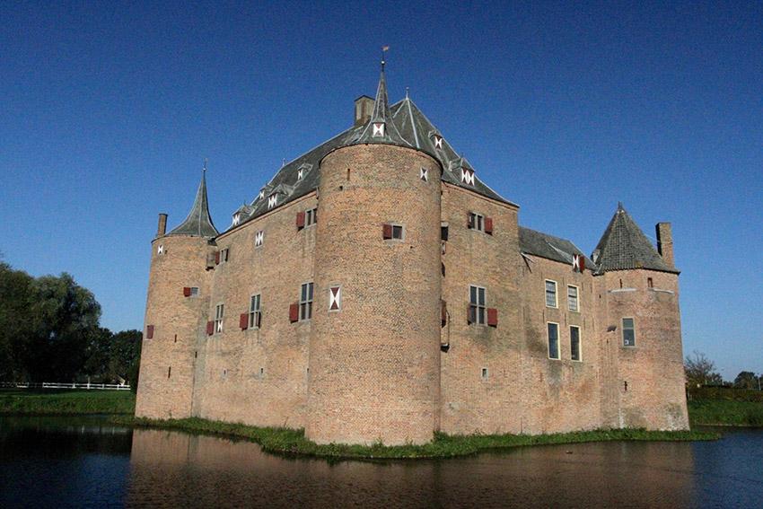 El Castillo de Ammersoyen, uno de los castillos de cuento en Holanda