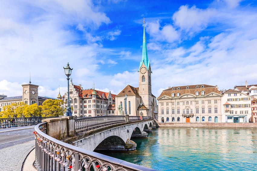 Zúrich, una de las las ciudades más caras del planeta