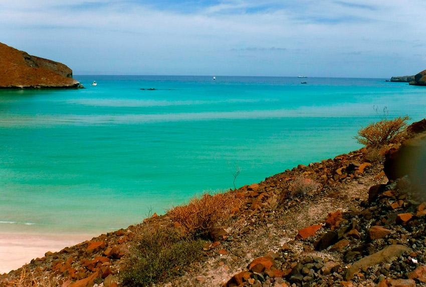 La playa Balandra en México