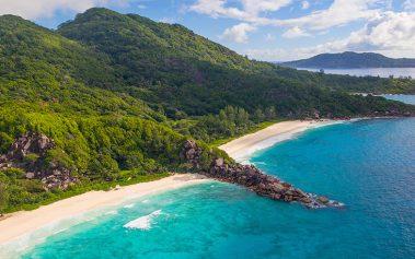 Isla La Digue, una de las playas paradisíacas de las Islas Seychelles