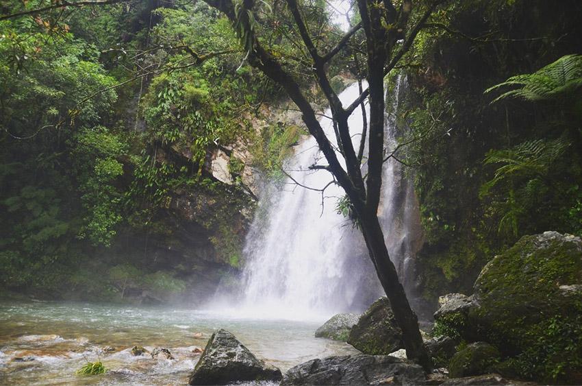 Cascada El Salto, una de las mejores cascadas de Puebla