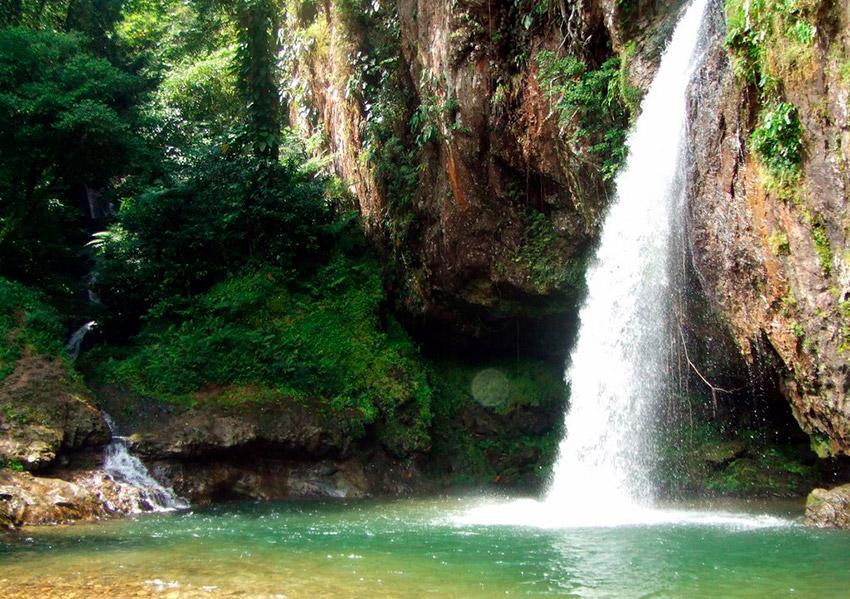 Cascada Las Brisas, una de las mejores cascadas de Puebla