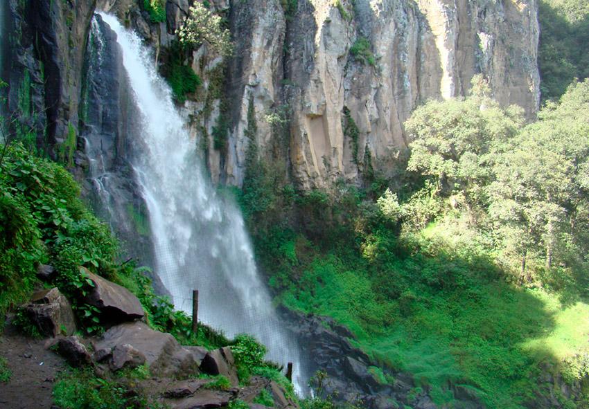 Cascada de Quetzalapan, una de las mejores cascadas de Puebla