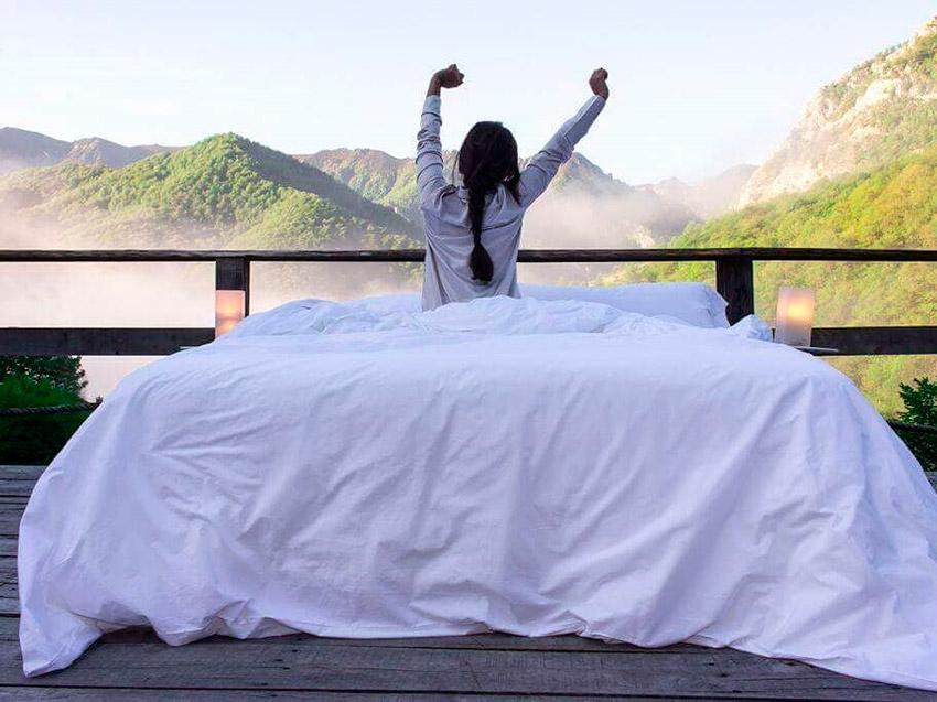 Tierra del Agua, uno de los hoteles para yoguis en España