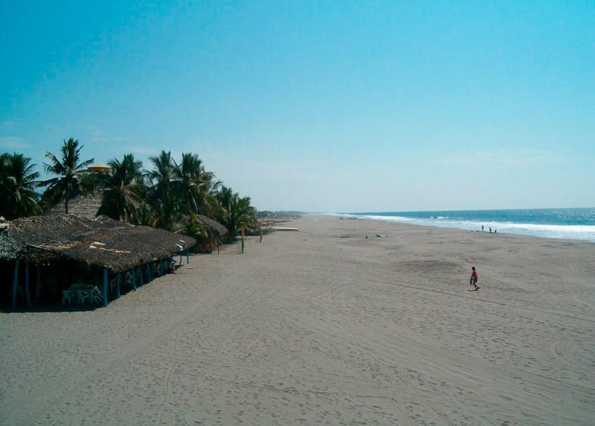 Puerto Arista, uno de los lugares en la costa de Chiapas