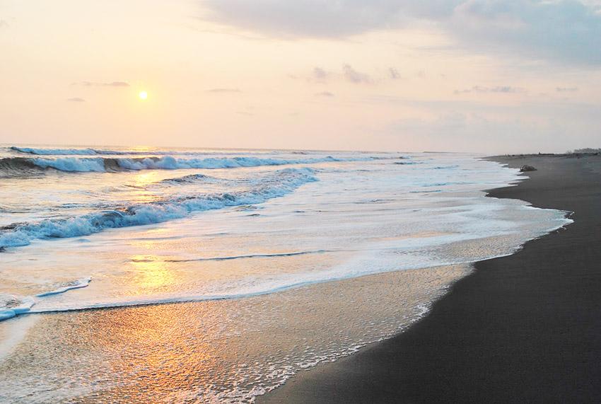 Playa Azul, uno de los lugares en la costa de Chiapas