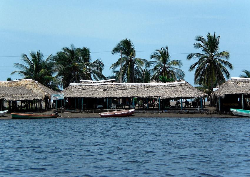Boca del Cielo, uno de los lugares en la costa de Chiapas