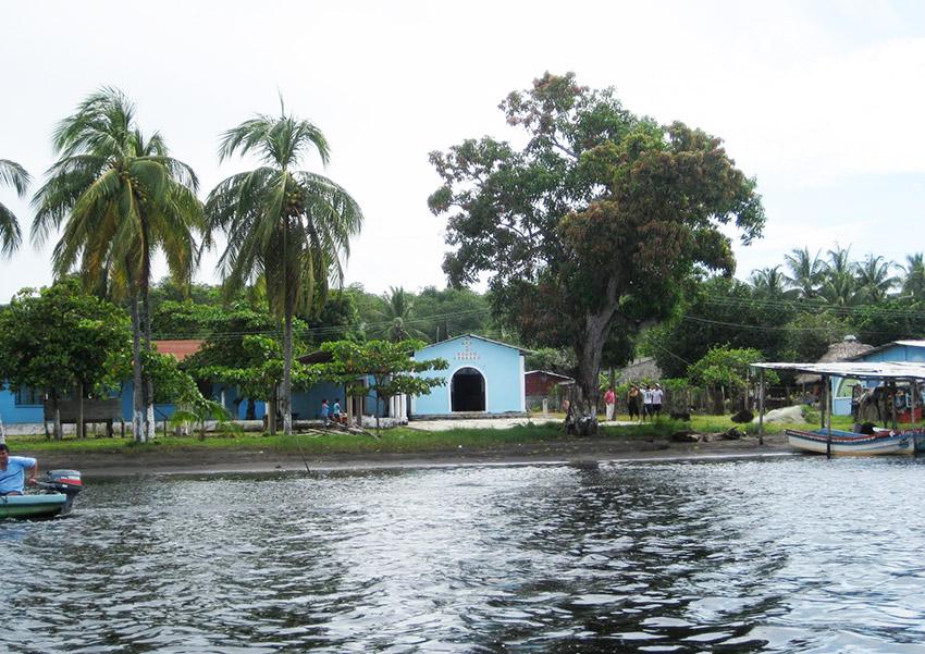 Barra Zacapulco, uno de los lugares en la costa de Chiapas