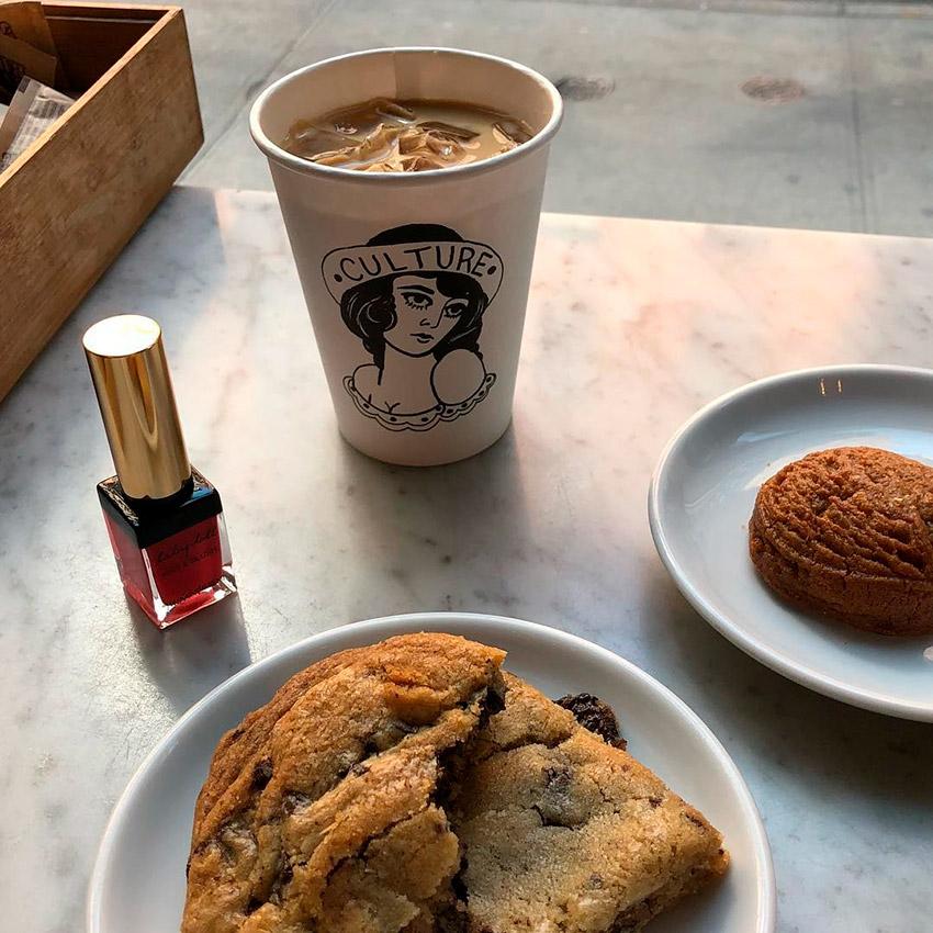 Culture Espresso, uno de los cafés de moda en Nueva York