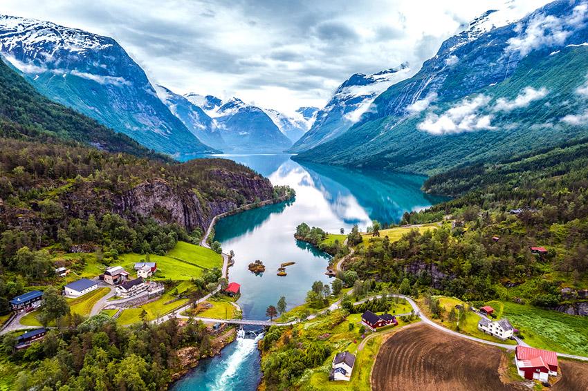 Noruega, uno de los países que protegen al medio ambiente