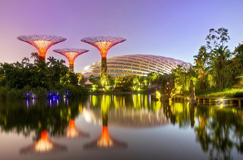 Singapur, uno de los países que protegen al medio ambiente