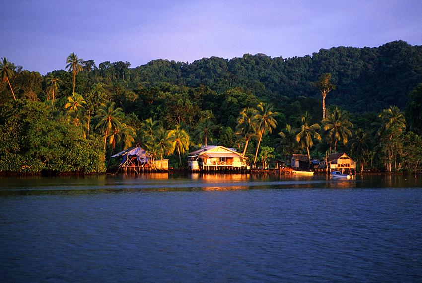 Islas Salomón, uno de los los países donde más llueve