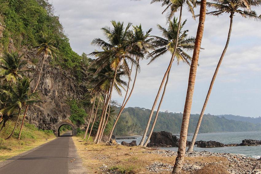 Santo Tomé y Príncipe, uno de los los países donde más llueve