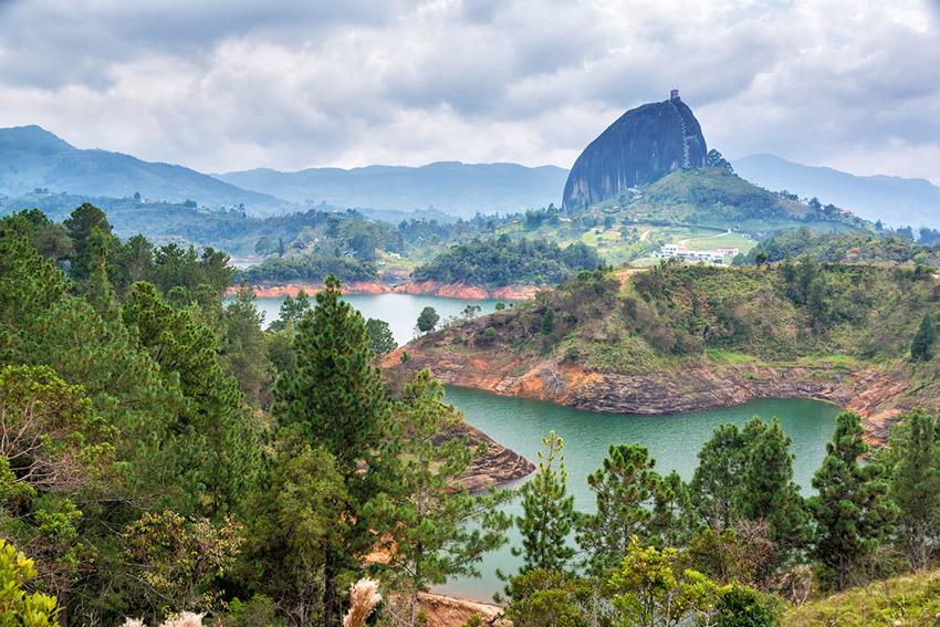 Colombia, uno de los los países donde más llueve