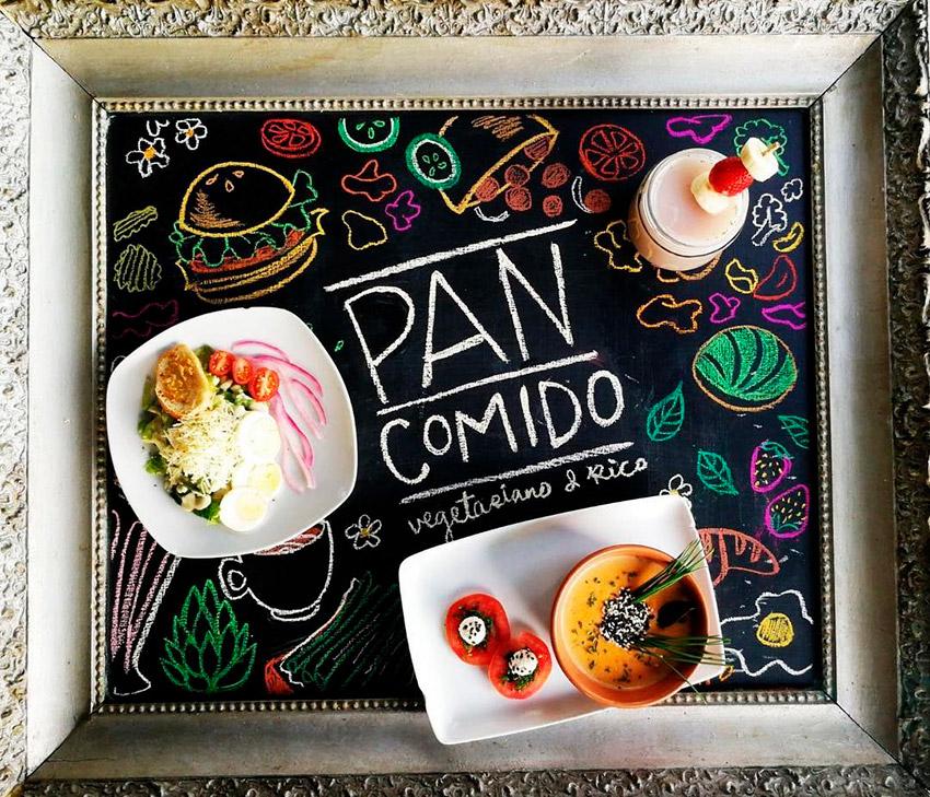 Pan comido, uno de los lugares de la ruta Vegana en Ciudad de México