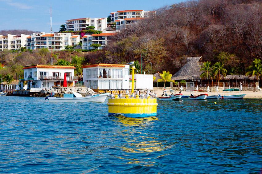 Bahía de Huatulco, una de las mejores bahías de Oaxaca