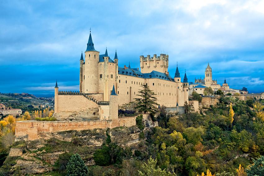 Alcázar de Segovia, uno de los castillos de cuento en España