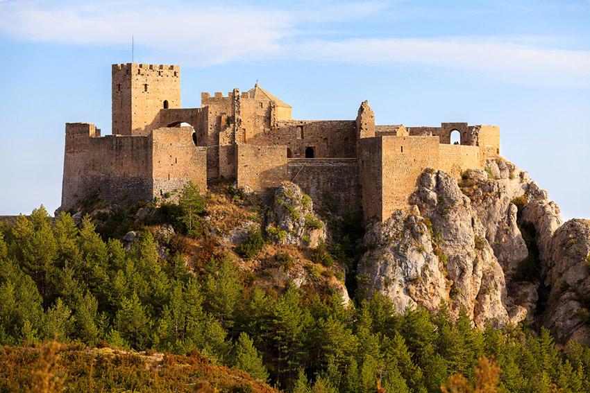 Castillo de Loarre, uno de los castillos de cuento en España