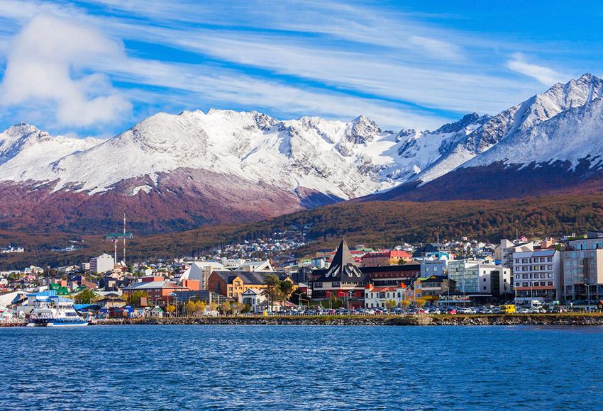 Ushuaia, uno de los lugares donde viajar en invierno en Argentina