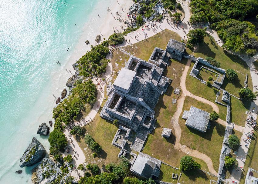 Cancún, uno de los lugares donde viajar con niños en agosto