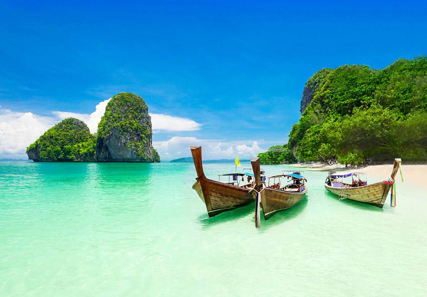 Tailandia, uno de los lugares donde viajar con niños en agosto