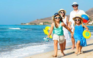 5 lugares donde viajar con niños en agosto